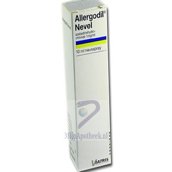 ALLERGODIL NEVEL NEUSSPRAY 1MG/ML