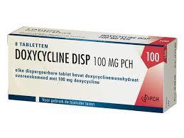 DOXY DISP PCH TABLET 100MG - soa